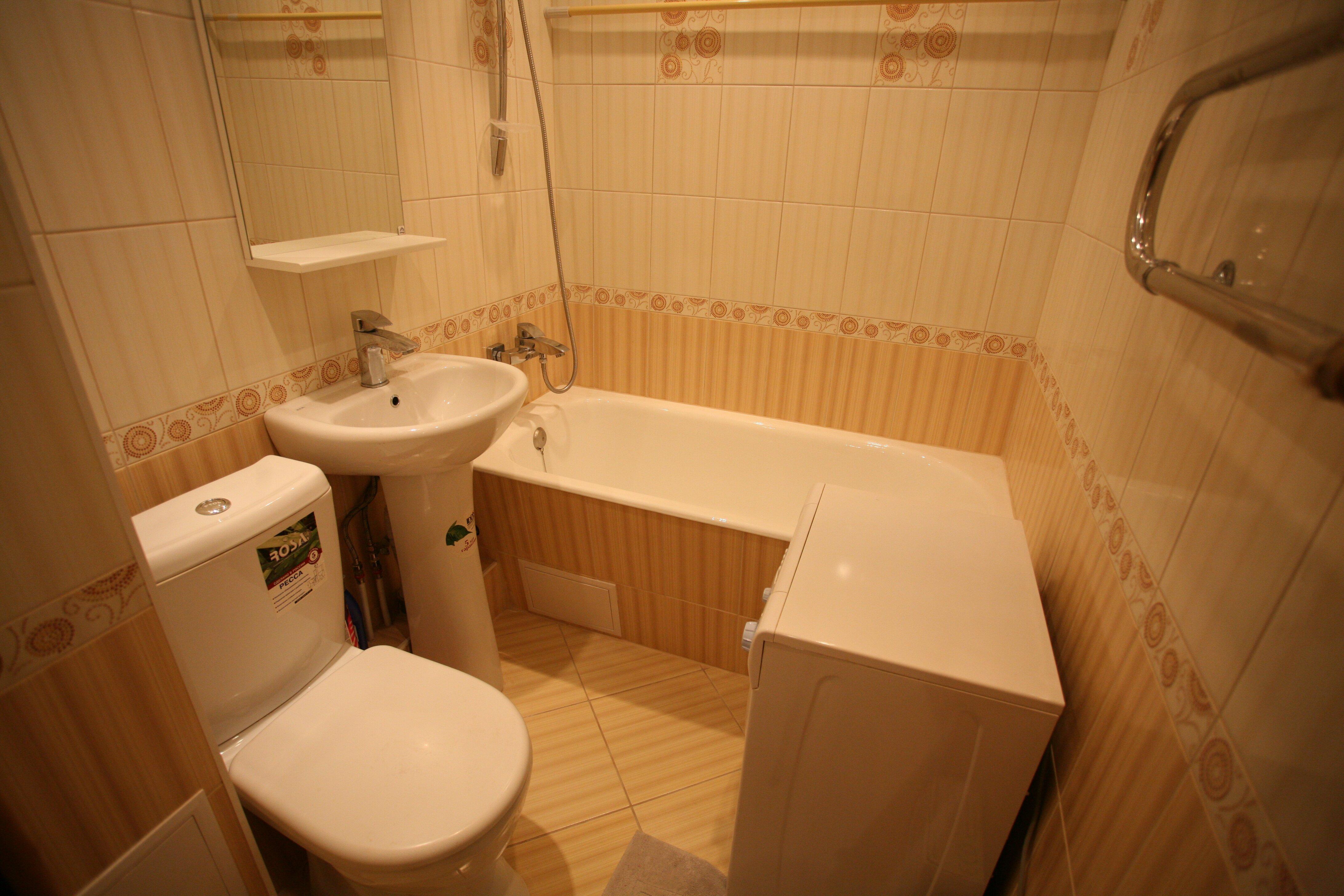 С чего начать ремонт в ванной в новостройке своими руками