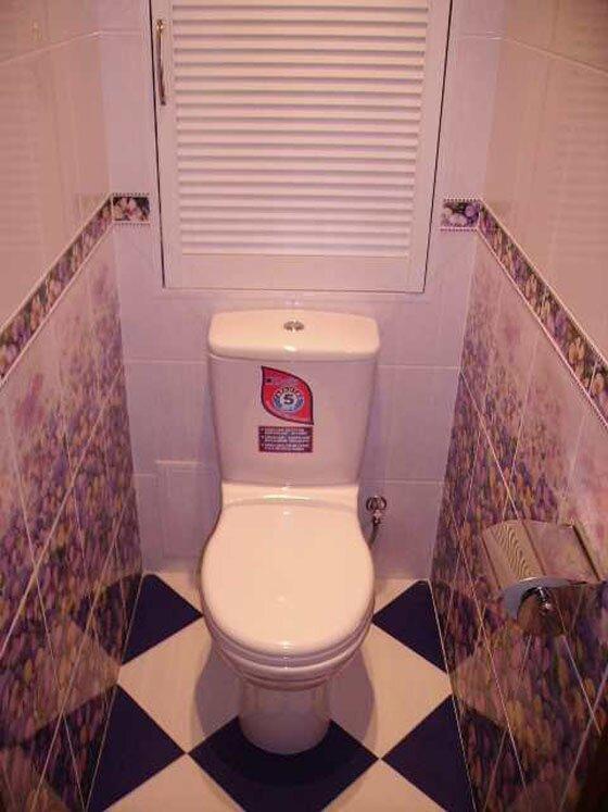 Ремонт туалета под ключ фото